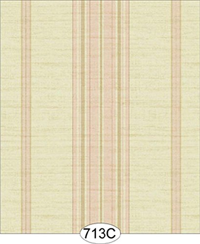 Dollhouse Wallpaper Plaza Stripe (Plaza Stripe)