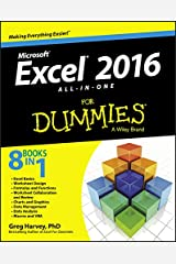 Excel 2016 All-in-One For Dummies Kindle Edition