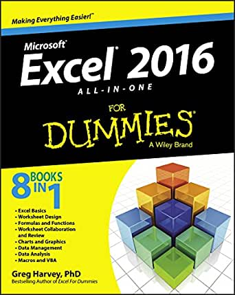 Excel 2016 All-in-One For Dummies 1, Greg Harvey, eBook - Amazon.com