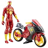Marvel Spider-Man Figura Spiderman con Repulsor Cycle