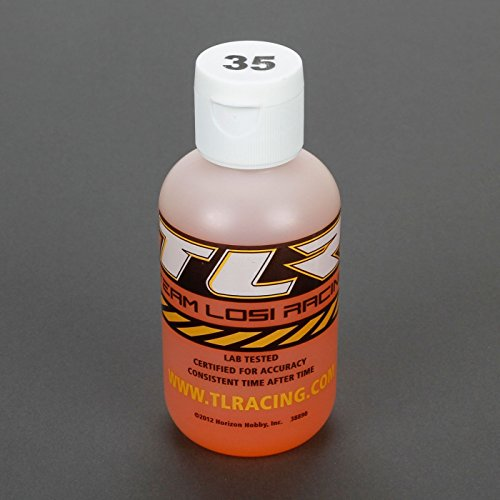 Team Losi Racing Silicone Shock Oil, 35wt, 4oz, TLR74024