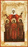 Sts. Sofia, Faith, Hope and Love Russian Orthodox icon
