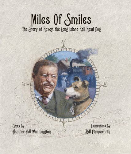 Miles of Smiles: The Story of Roxey, the Long Island Rail Road - Island Long Set Railroad Train