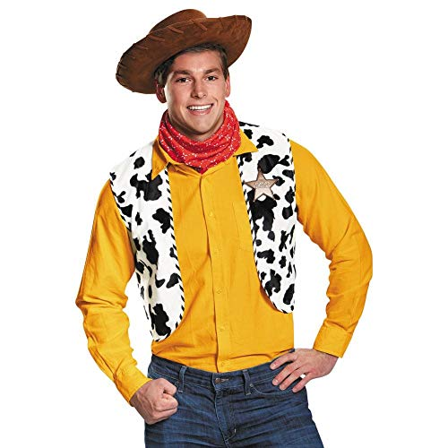 Toy Story Woody Adult Costume Kit, One