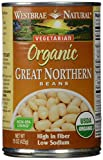 Westbrae Natural, Vegetarian Organic, Great Northern Beans, 15 oz