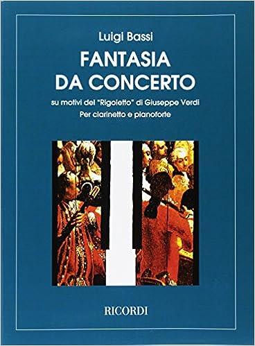 Verdi Bassi Rigoletto Fantasia Da Concerto Amazon Giuseppe