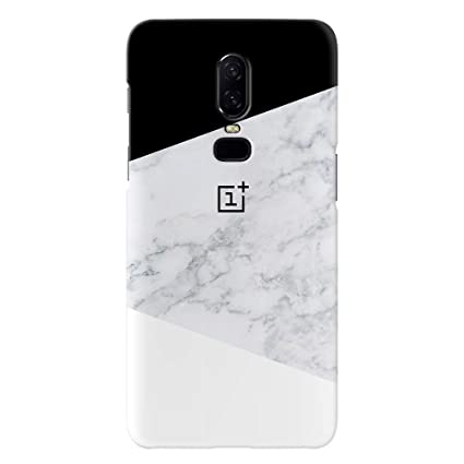 8b36e5f630a8c7 Koveru Black and White OnePlus 6 Designer Printed Back: Amazon.in:  Electronics