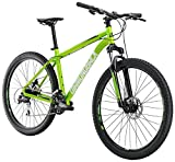 Diamondback Bicycles Overdrive ST Hardtail Mountain Bike, Green, 18