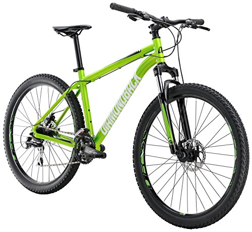Diamondback Bicycles Overdrive ST Hardtail Mountain Bike, Green, 16'/Small