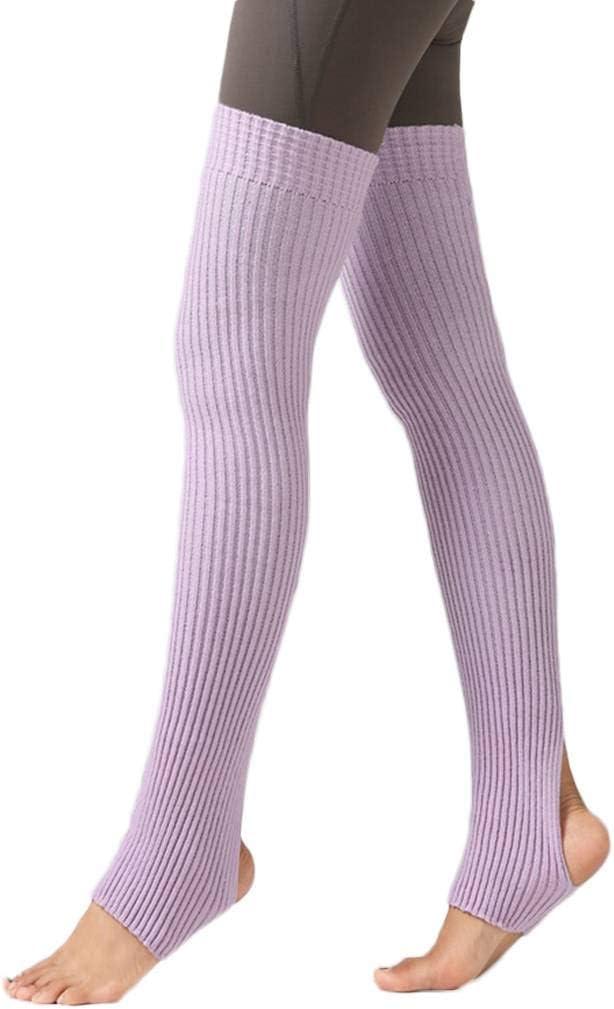 Pandiki 1 Paire Femmes Filles Gu/êtres Chaussettes Longues Collants Chaussettes Hiver Danse Automne Bas Ballet Yoga