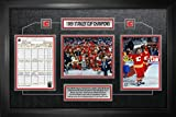 Calgary Flames Framed Scoresheet Collage 1989 Stanley Cup Champions