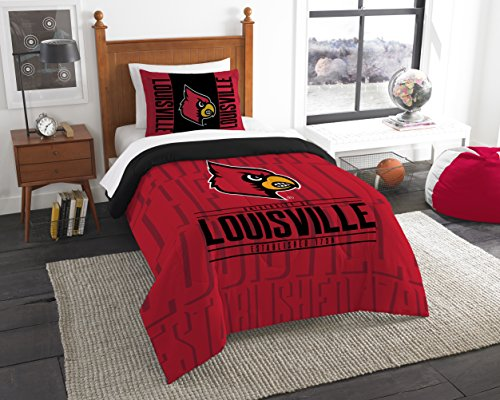 - The Northwest Company Officially Licensed NCAA Louisville Cardinals Modern Take Twin Comforter and Sham