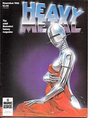 Heavy Metal Magazine, November 1980, Vol. IV, No. 7