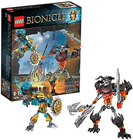 LEGO Bionicle 70795 Mask Maker vs. Skull Grinder