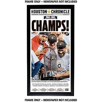 Houston Chronicle Newspaper Frame