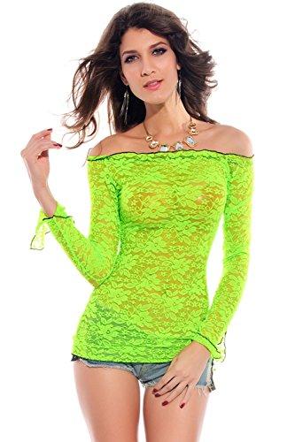 Pinkyee - Falda - para mujer Verde