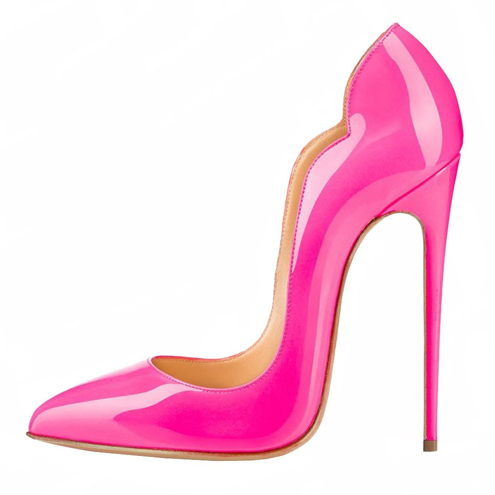EKS - Zapatos de Tacón Mujer 39 EU|Rose