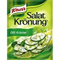 Knorr Dill & Herbs Salad Dressing (Salat Kroenung) - Pack of 4 X 5 Pcs Ea. by Unilever