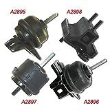 K1127-04 : Fits 2000-2005 Buick LeSabre / Pontiac Bonneville 3.8L Motor & Trans Mount 4pc 2000 2001 2002 2003 2004 2005 A2895 A2896 A2897 A2898