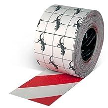 "Gator Grip: Anti-Slip Tape, 4"" x 60', Red/White"
