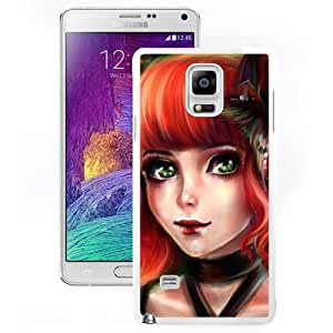 Fashionable Designed Cover Case For Samsung Galaxy Note 4 N910A N910T N910P N910V N910R4 With Cute Pixie Fantasy Mobile Wallpaper (2) Phone Case