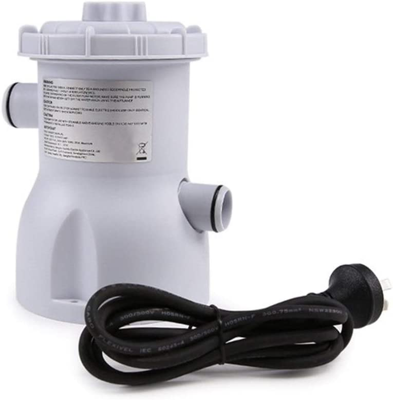 L.J.JZDY Filtro de la Piscina 220V eléctrico Piscina Bomba de filtración for Las Piscinas Limpieza con Herramienta Enchufe de la UE (Color : EU Plug, Size : Gratis)