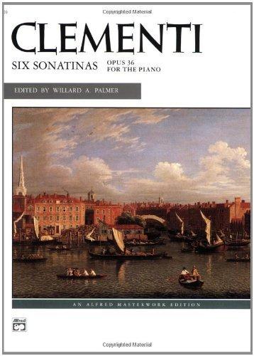 6 Sonatinas (Alfred Masterwork Edition) (6 Sonatinas Music Book)
