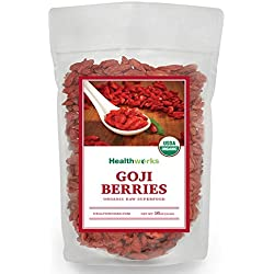 Healthworks Goji Berries Raw Organic, 1lb