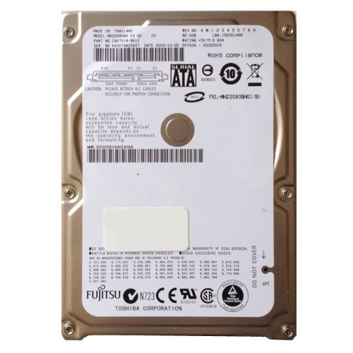 Mhz2080bh Fujitsu Mobile 80Gb 5400Rpm Sata Internal 2.5Inch Buffer 8M