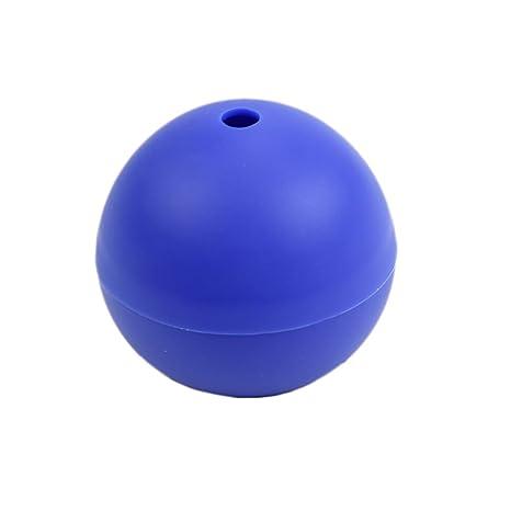 Molde de silicona, en forma de esfera para hacer hielo u otras creaciones en la