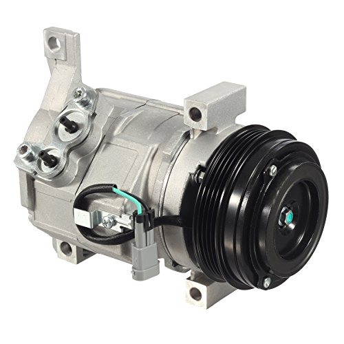 AUTEX AC Compressor and Clutch CO 29002C 19130450 77362 TEM254449 274465 Replacement for Cadillac Escalade ESV & EXT & Chevrolet Avalanche 2010 2011 2012 -