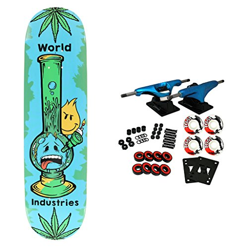 World Industries Skateboard Complete Bong 8.0