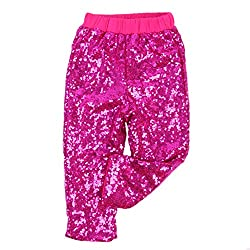 Sequin Rainbow Pants For Girls