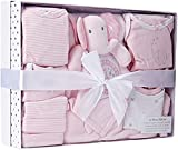 Sterling Baby by Girls' 12 Piece Layette Boxed Gift Set for, pink 0/3 Months 0/3 Months: Clothing