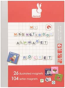 Janod Alphabet Magnetibook