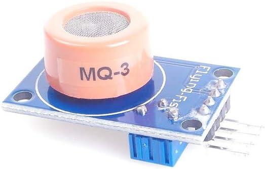 ANGEEK MQ-3 Alcohol Sensor Module Alcohol Ethanol Gas Sensitive Detection Alarm for arduino