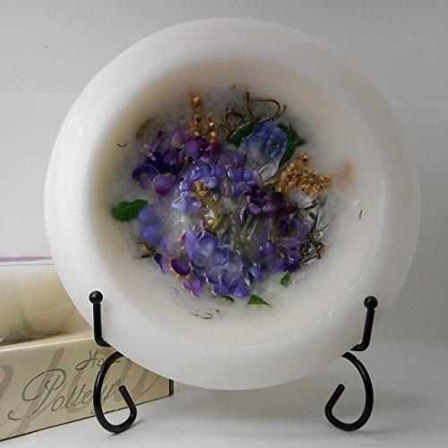 Habersham Lilac Blossom Wax Pottery Home Fragrance (7