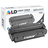 LD Compatible Toner Cartridge Replacement for HP 15X High Yield (Black)