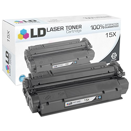 LD Compatible Toner Cartridge Replacement for HP 15X High Yield (Black) by LD Products