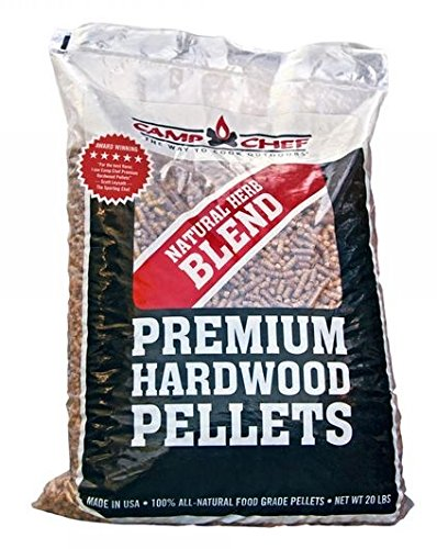 Camp Chef Natural Herb Blend Premium Hardwood Pellets,