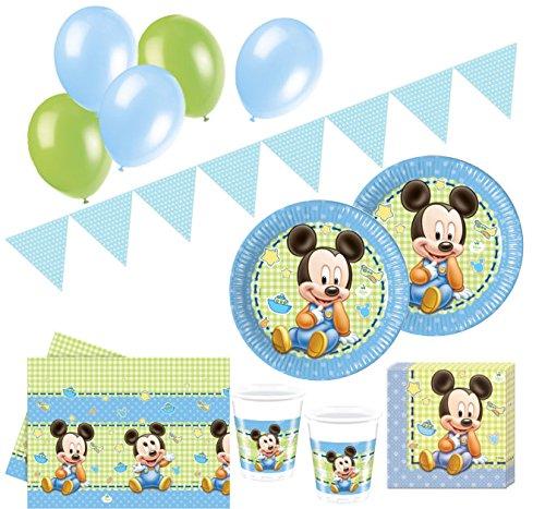 67 Teile Disney Baby Micky Zum Ersten Geburtstag Party Deko Set 16