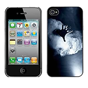 Design Hard ShellBlack White Deep Meaning For Apple Iphone 4/4S Case Cover