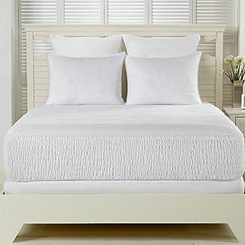 Simmons Beautyrest Beautyrest 300 Thread Count Premium Cotton Mattress Pad King