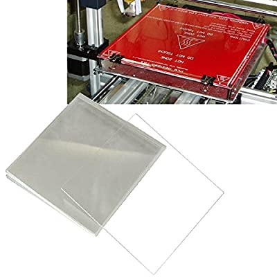 Signstek 3D Printer MK2 MK3 Heated Bed Tempered Borosilicate Glass Plate 213*200*3mm