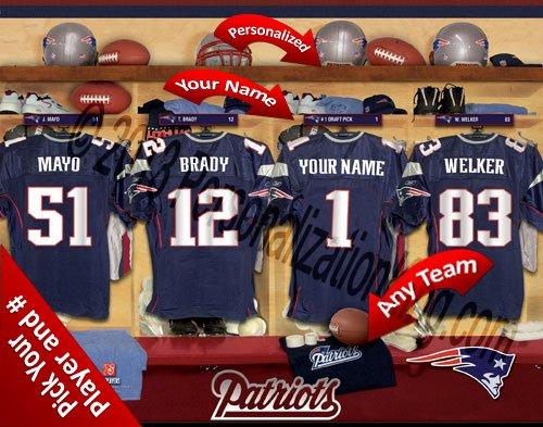 New England Patriots Locker Room - 7
