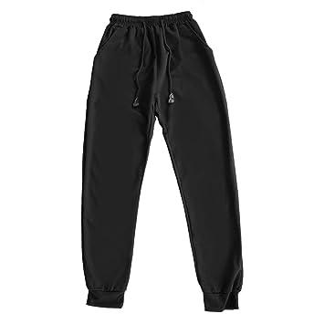 WOSOSYEYO Moda Slim Fit Pantalones de chándal Suaves Pantalones ...