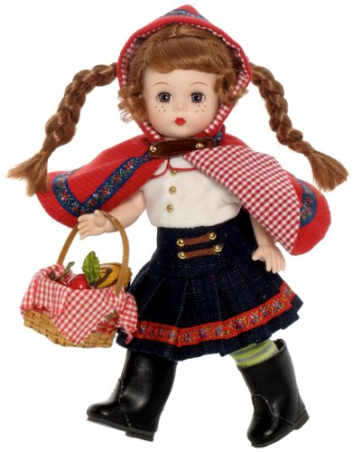 """Alexander Dolls 8"""" Red Riding Hood - Fairy Tale Collection - Storyland Collection"""