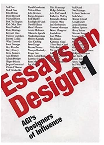 essays on design agis designers of influence v alliance  essays on design agis designers of influence v 1 alliance graphique internatio 9781873968246 com books
