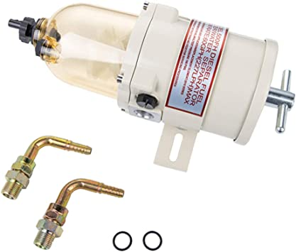 Aquiver Auto Parts New 500FG 500FH Diesel Marine Boat Fuel Filter//Water Separator