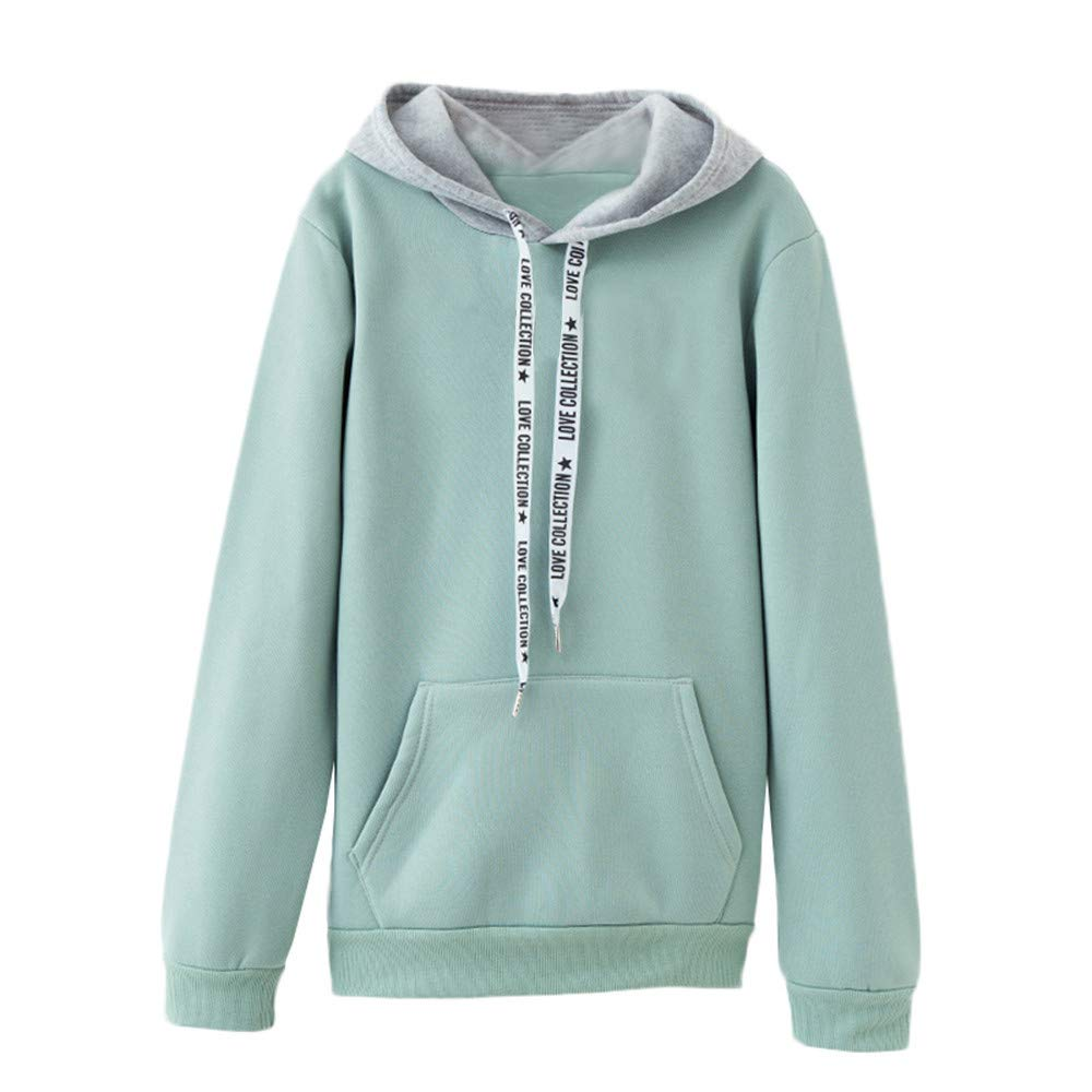 Womens Sweatshirt Laimeng_World 2018 Women Long Sleeve Casual Hooded Sweatshirt Warm Pullover Top Blouse at Amazon Womens Clothing store: